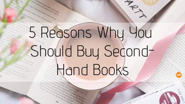 5 Reasons Why You Should Buy Second-Hand Books